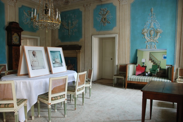 Console Table, Bedroom (no. 1), and Living Room at Schloss ...